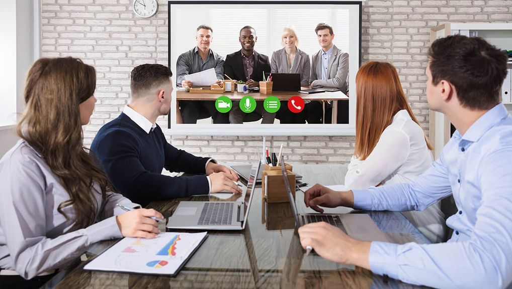 How to effectively and efficiently video conference from home.image