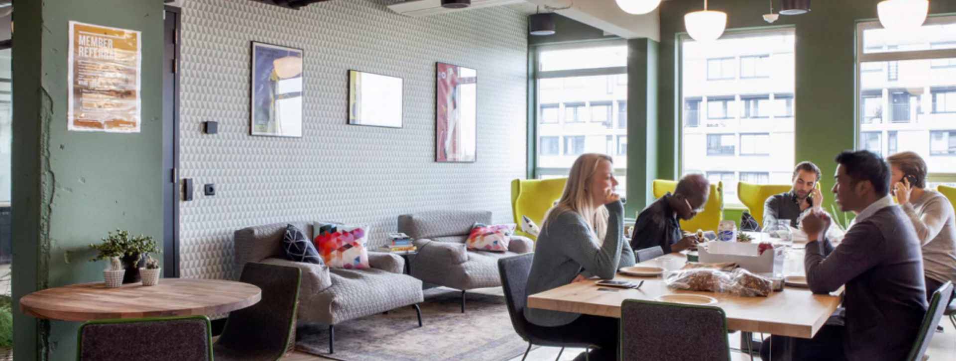 What exactly is a full-serviced office space?