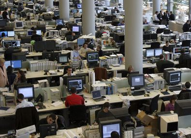 How do you cope with the chaos of an open plan office?
