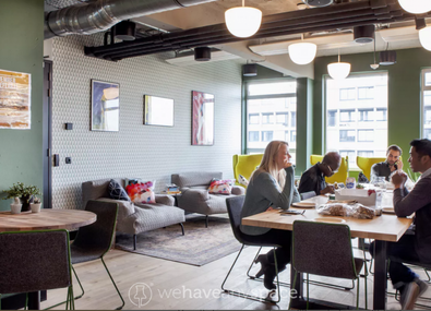 What is a full-serviced office?