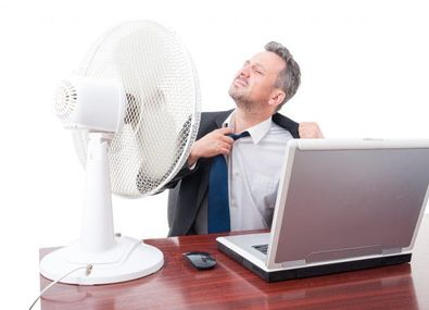 How to stay cool at the office!